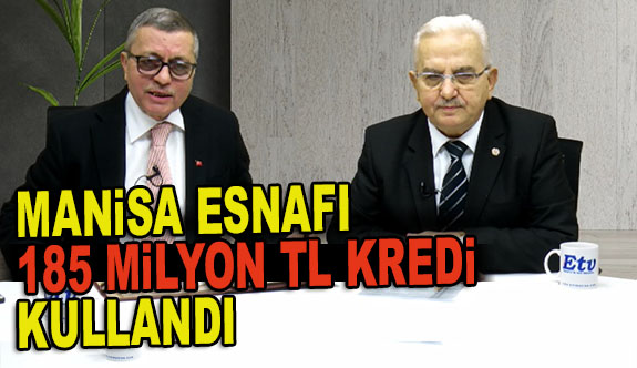 "BAŞKAN RECEP ÇINAR, ""2019 YILINDA ESNAFA 185 MİLYON TL KREDİ KULLANDIRDIK"""