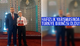 HAFIZLIK YARIŞMASINDA TÜRKİYE 1....