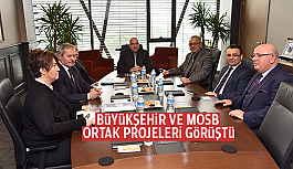 BÜYÜKŞEHİR VE MOSB ORTAK PROJELERİ...