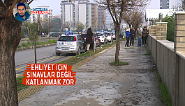 EHLİYET İÇİN SINAVLAR DEĞİL KATLANMAK...