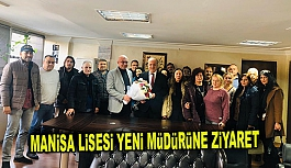 MANİSA LİSESİ'NİN YENİ MÜDÜRÜNÜ...